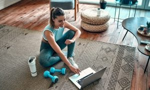 home fitness online
