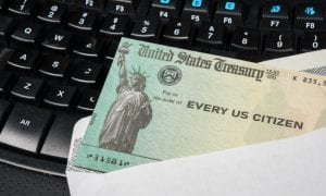 The IRS Stimulus Check Is Finally In The Mail