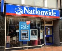 Nationwide will return its 50 million pound BCR grant.