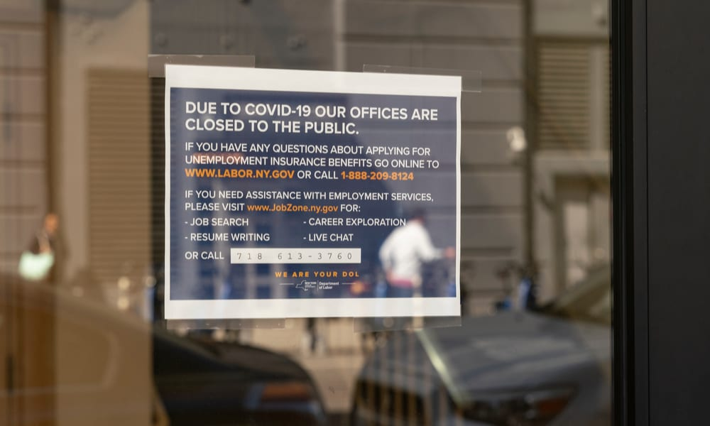 NY's Jobless Claims Site Crashes From Volume