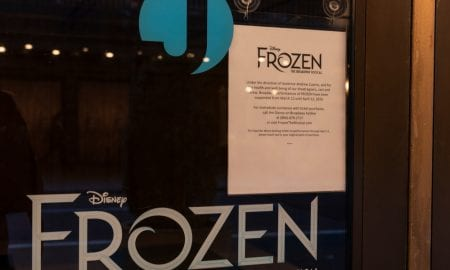 Broadway musical Frozen closed