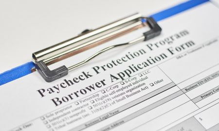 Paycheck Protection Program loan application