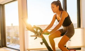 New Digital Normal Rewards Peloton As Gyms Dim