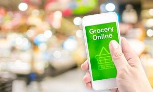 Online grocery sales skyrocketed in April, Adobe DEI says