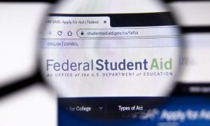 Colleges See Drop In Financial Aid Applications