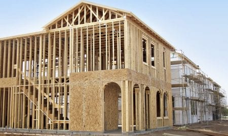 Homebuilder sentiment is up in most of the country