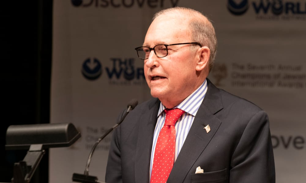 Trump Advisor Larry Kudlow: Q2 Will Be Worse