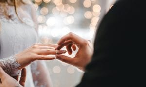 Couples Choose Smaller Weddings Amid Distancing