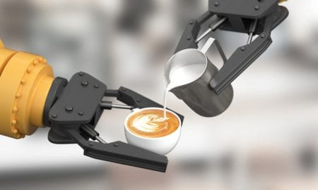 AI Robot Debuts At S. Korean Coffee Shop