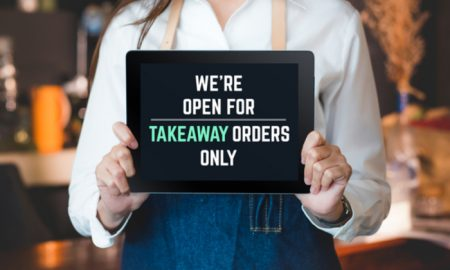 open for takeaway only