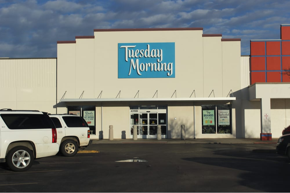 Tuesday Morning Mulls Possible Bankruptcy Filing