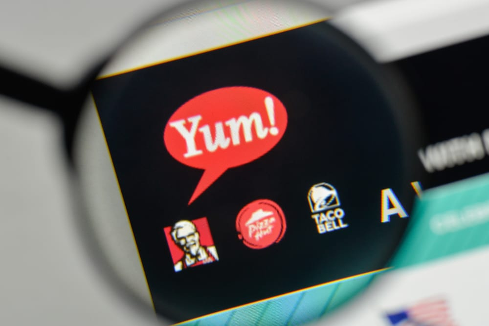 Yum! Brands apps