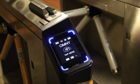 MTA OMNY contactless fare system