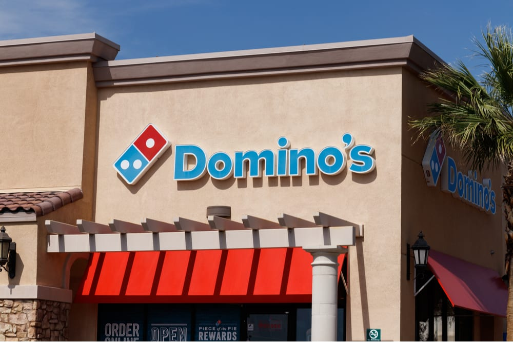 Domino's Unveils Carside Delivery Contactless Pickup Option