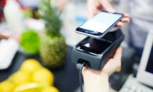 contactless grocery payment