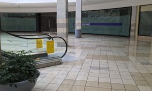 empty shopping mall