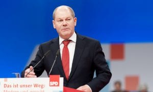 German Finance Minister Calls For Regs Reform