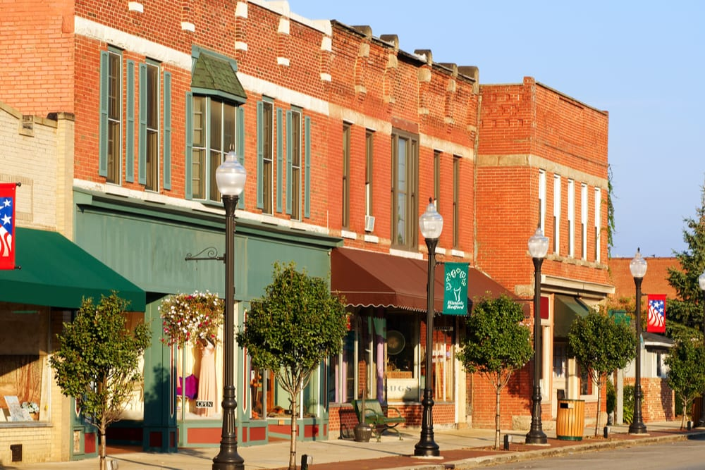 Main Street small businesses