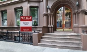 city brownstone for sale