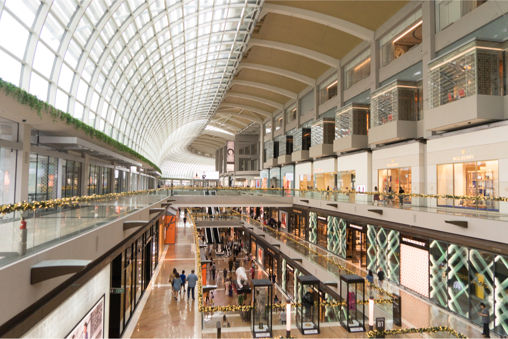 mall in Singapore