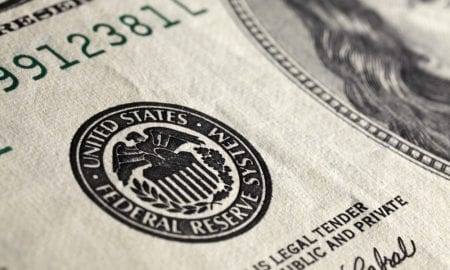 Federal Reserve seal on currency