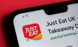 Just Eat Takeaway app