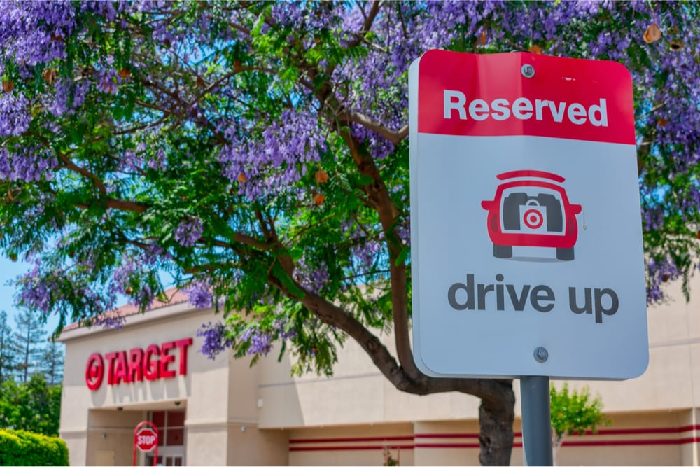 Target store drive-up