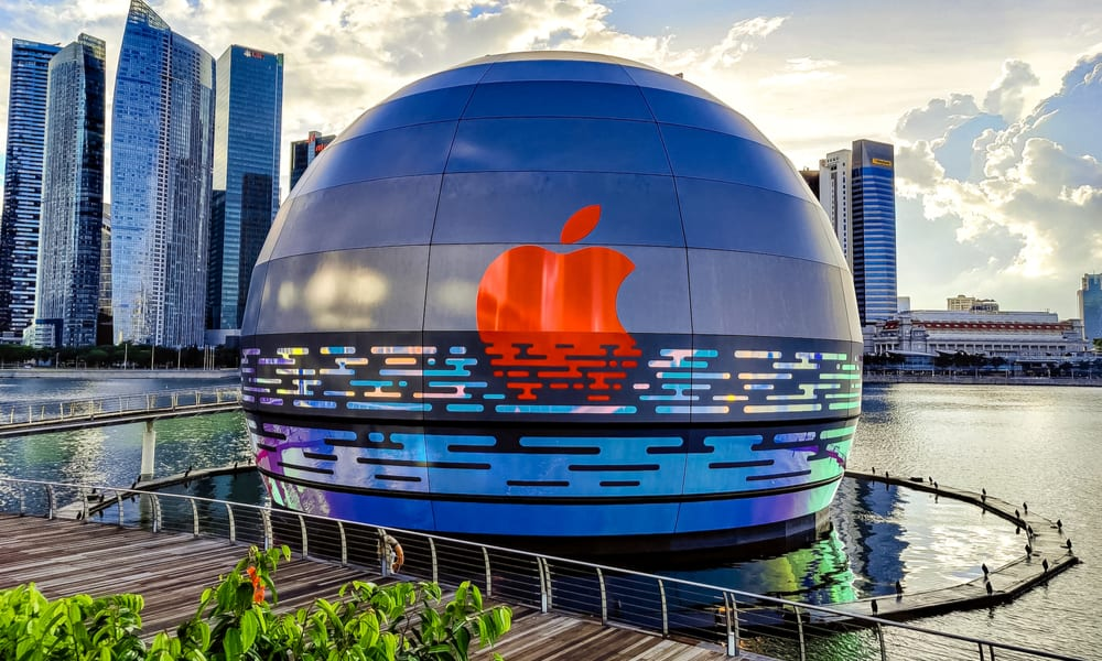 Apple To Open Spherical Store On Singapore Shore