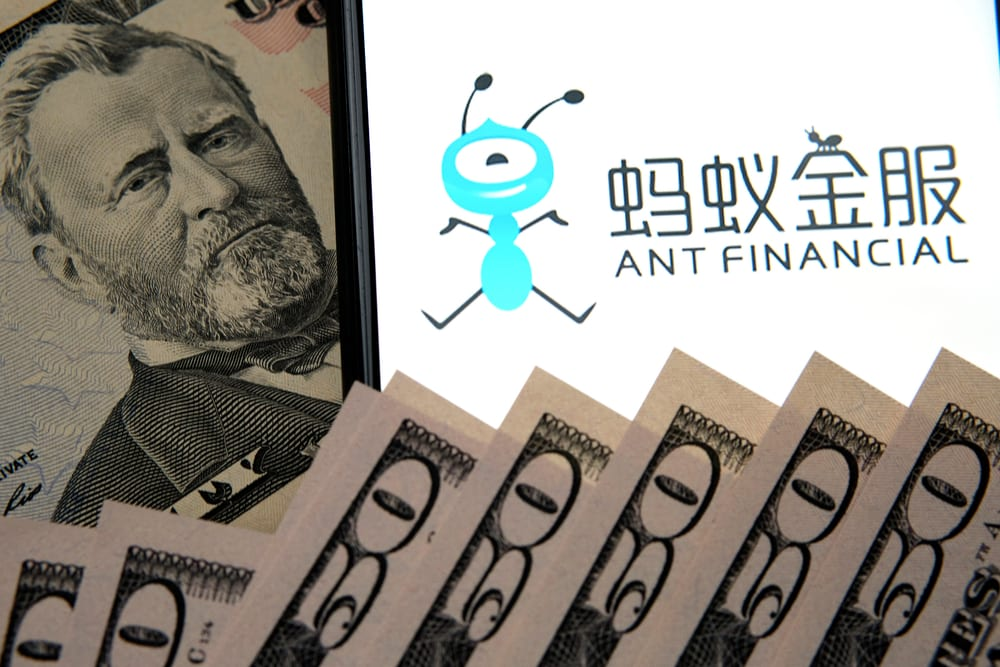 Ant Group Makes Preliminary Filing With Regulator For Intended IPO