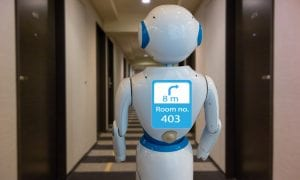 Hotel Robots Become Frontline Workers