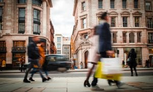 Retail Foot Traffic Increases 4.1 Pct In The UK