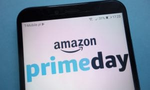 Amazon Prime Day on smartphone