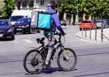 bicycle food delivery France
