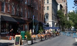 New York City outdoor dining