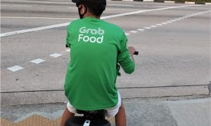 grab, food, delivery, pandemic, earnings, singapore