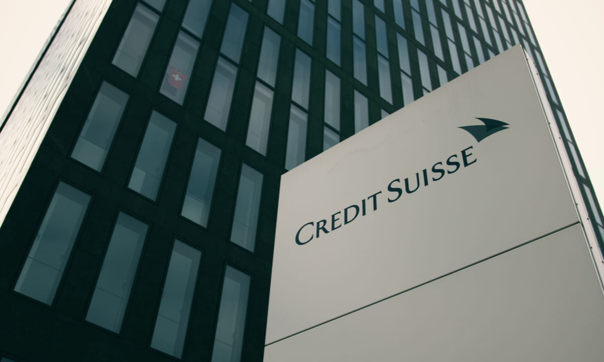 Swiss Prosecutors Charge Credit Suisse Over Alleged Drug Money Laundering