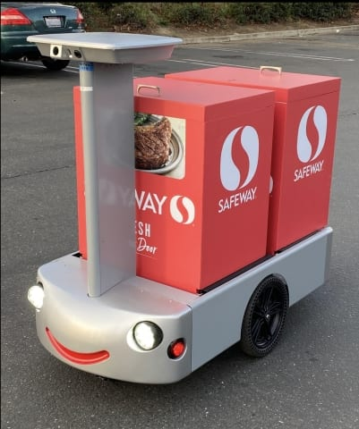 Albertsons Teams With Tortoise For Robotic Grocery Delivery