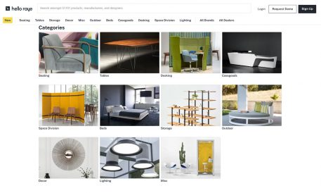 B2B Site 'Hello Raye' Unveils 3D Rendering SaaS Tool for Furniture Buyers, Manufacturers