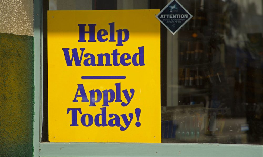 First-Time Weekly Jobless Claims up Slightly as Worker Shortage Continues